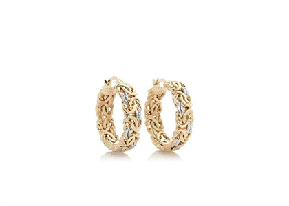 2 Tone Plated | Fashion Earrings