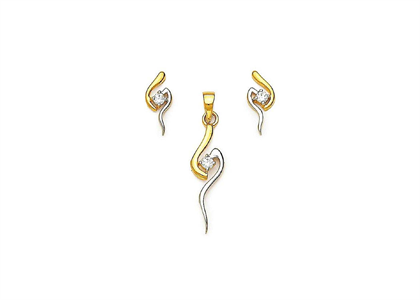 Two Tone Plated | Fashion Pendant Sets