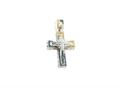 2 Tone Plated | Cross Pendants