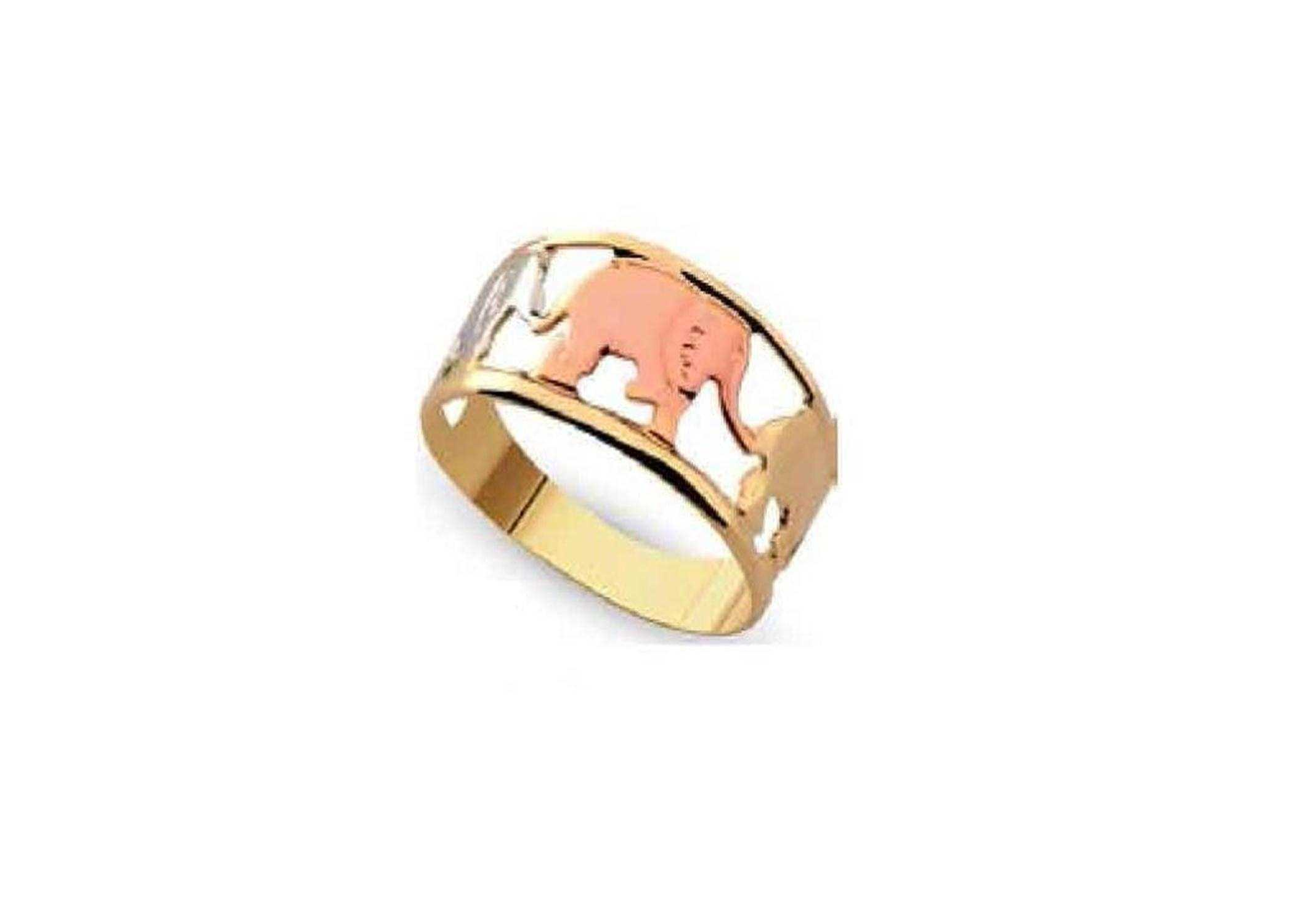 jewellery engagement image ring vermeil elephant strength rings topaz gold muru