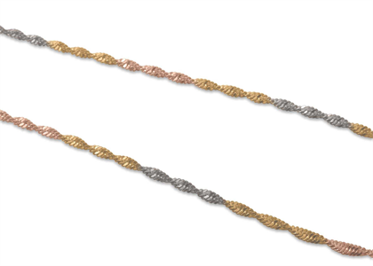Tri Tone Plated | Fashion chains