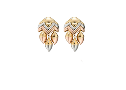 Tri Tone Plated | Fashion Earrings