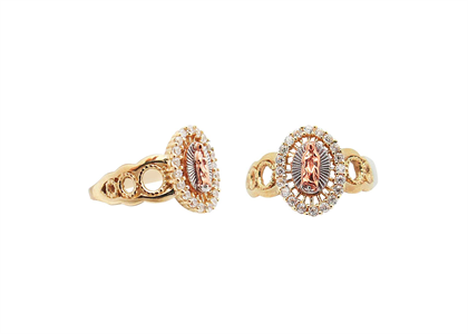 Gold Plated | Solitaire Rings