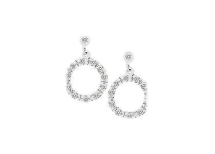 Rhodium Plated | Fashion Earrings