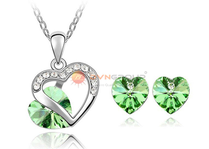 Rhodium Plated | Fashion Pendant Sets