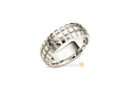 Rhodium Plated | Mens Rings