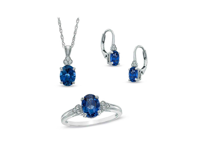 Silver Plated | Gemstone Pendant Sets