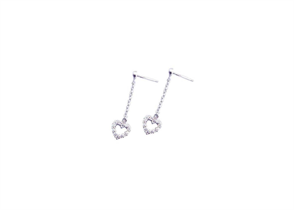 White Gold Plated | Fashion Earrings