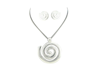 White Gold Plated | Fashion Pendant Sets