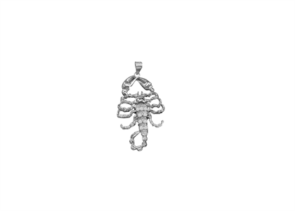 White Gold Plated | Animal Pendants
