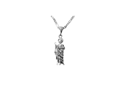 White Gold Plated | Mens Pendants