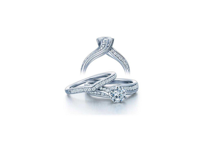 White Gold Plated | Bridal Colllection