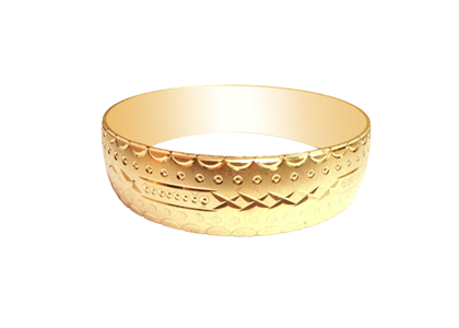 Gold Plated | Diamond Cut Bangles