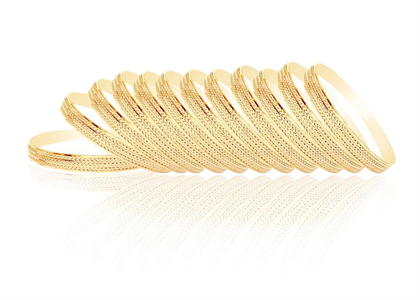 Gold Plated | Fashion Bangles
