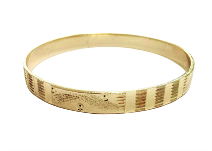 Gold Plated | Flat Bangles