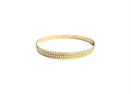 Gold Plated | Machine Cut Bangles