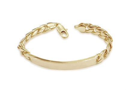 Gold Plated | Curb Bracelets