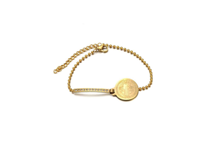 Saint Benedict Fashion Bracelet