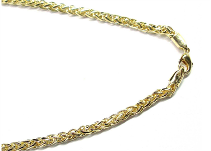 Gold Plated Hollow Chain