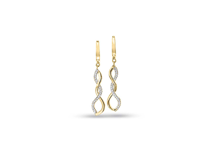 Gold Plated | Chandelier Earrings