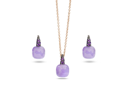 Gold Plated | Gemstone Pendant Sets