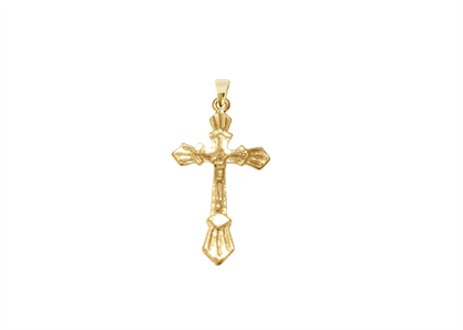 Gold Plated | Cross Pendants